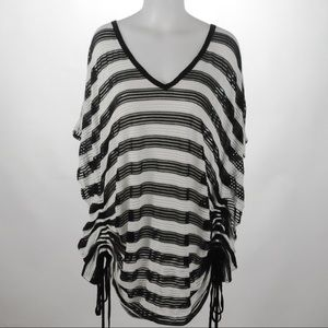 Swim Suite For All - Striped Coverup - Size 18/20